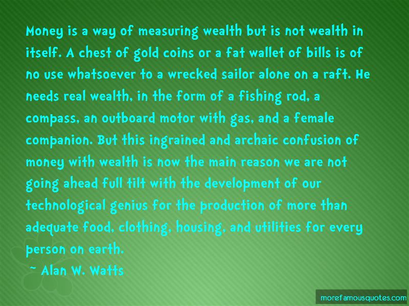 Quotes About Measuring Wealth