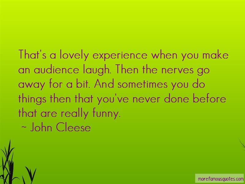 Quotes About Nerves