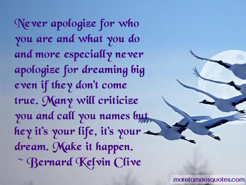 Quotes About Never Apologize For Who You Are