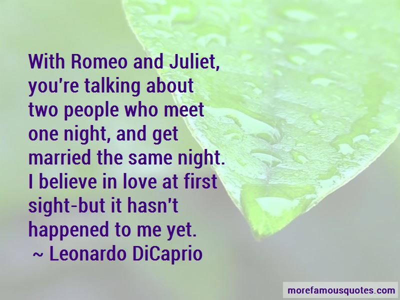 romeo and juliet first meet quotes