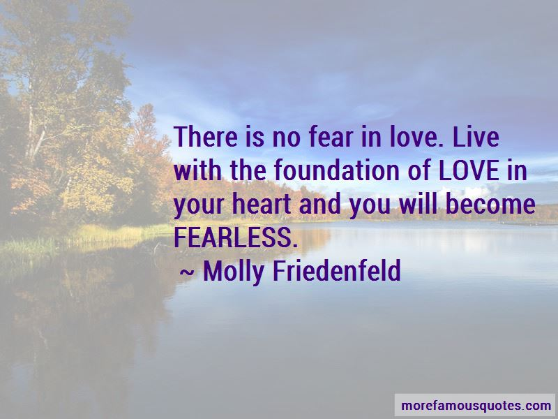 Quotes About No Fear In Love