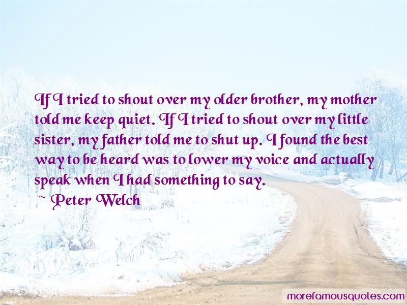 Quotes About Older Brother And Little Sister