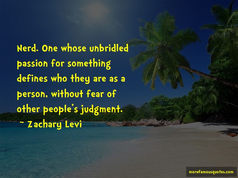 Quotes About People's Judgment