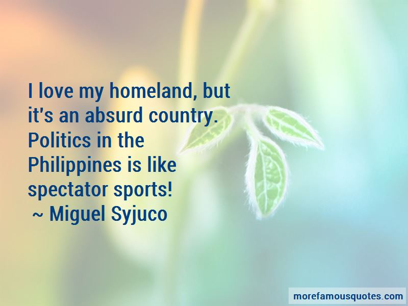 Quotes About Politics In The Philippines