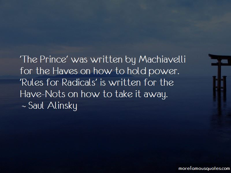 Quotes About Power Machiavelli
