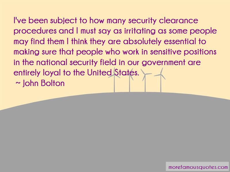 Security Clearance Quotes Pictures 3