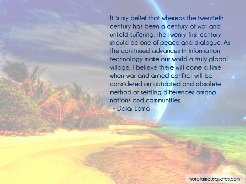 Quotes About Settling Differences