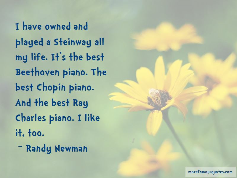 Quotes About Steinway