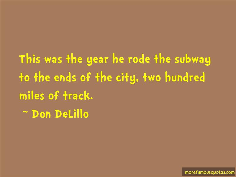 Quotes About Subway