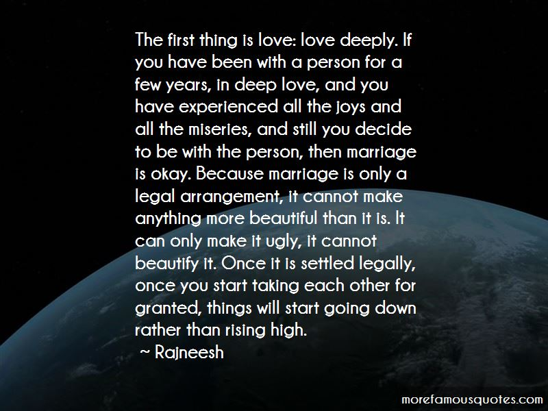 Quotes About Taking For Granted In Love