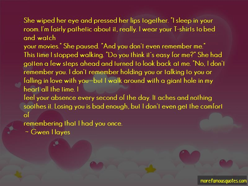 Talking To Your Love Quotes Pictures 2