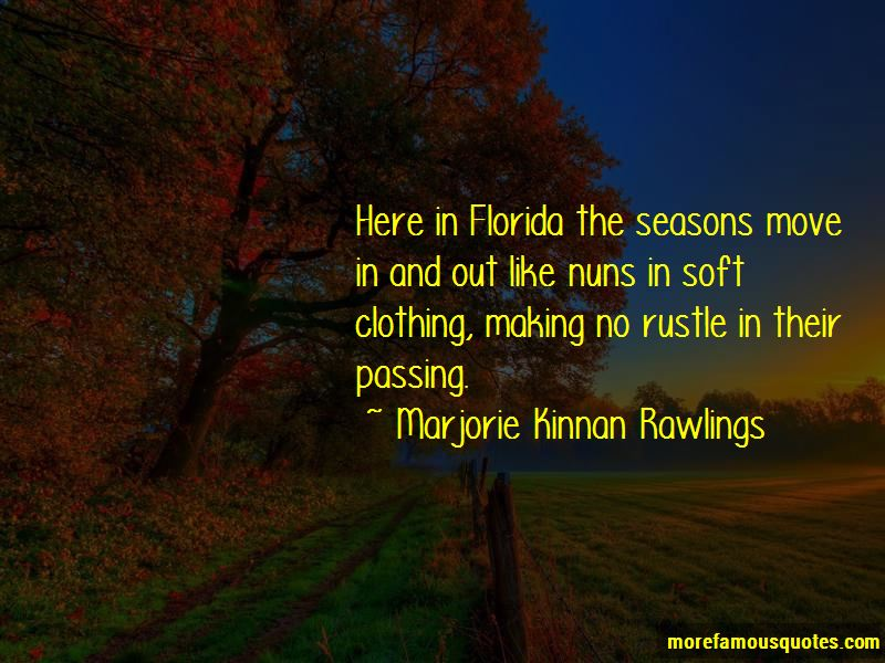 Quotes About The Passing Of Seasons