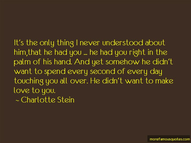 Quotes About Touching Love