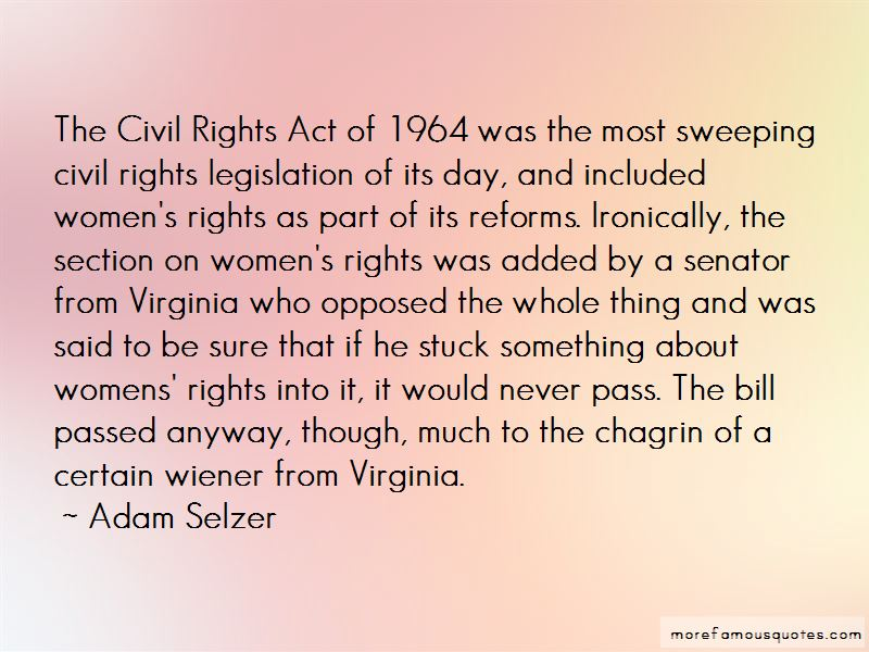 Quotes About Women's Civil Rights