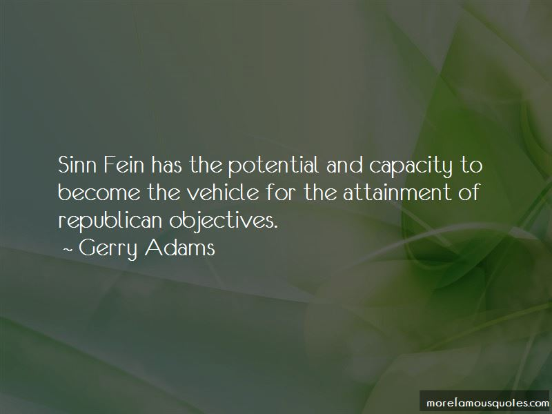 Republican Sinn Fein Quotes