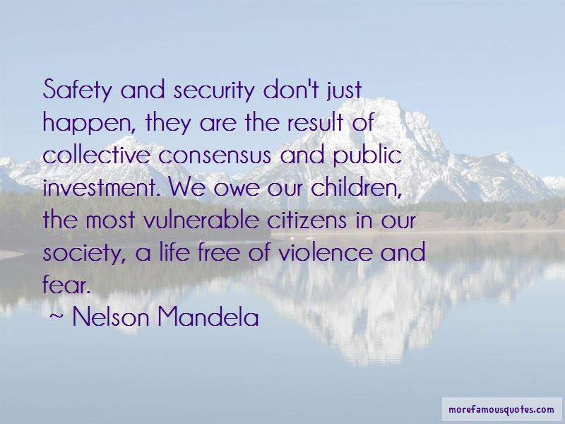 Safety Of Citizens Quotes