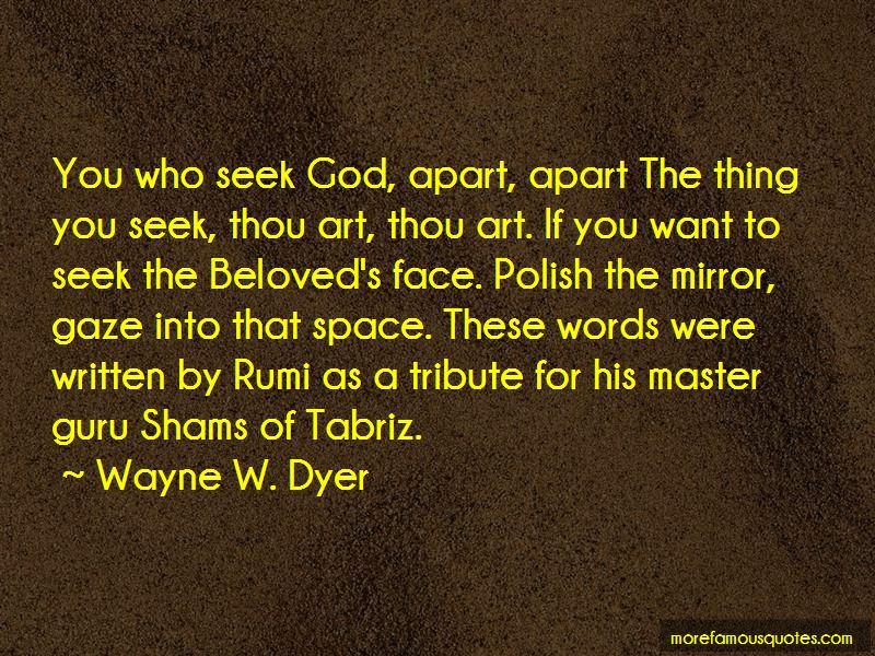 Shams Tabriz Quotes