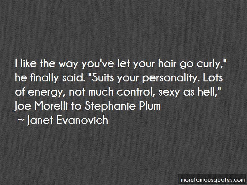 Stephanie Plum Morelli Quotes