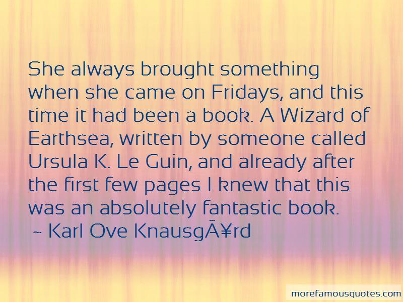 Ursula Le Guin Book Quotes