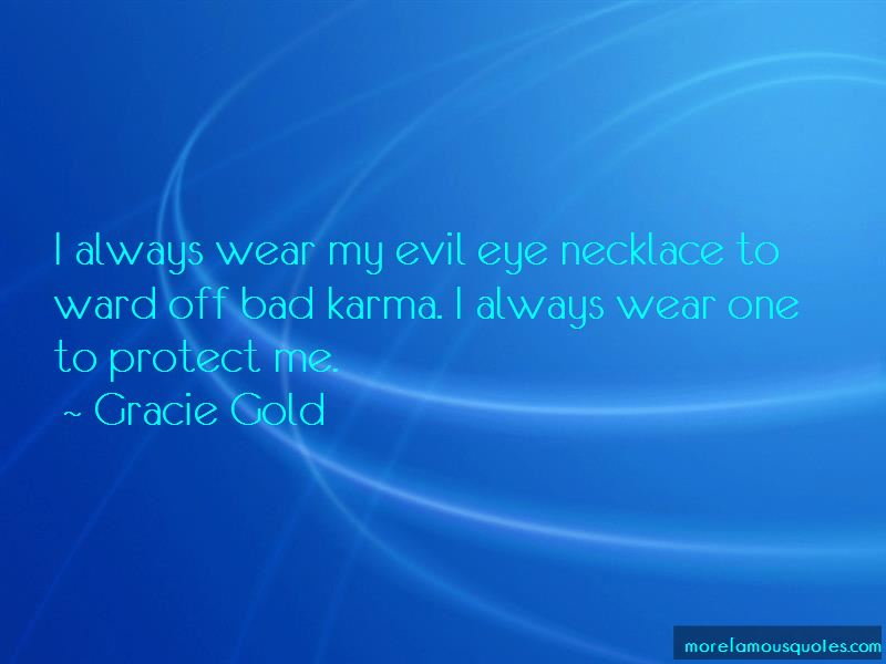 Ward Off Evil Eye Quotes