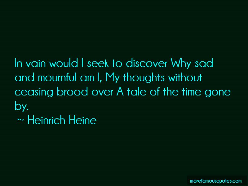 Why Sad Quotes