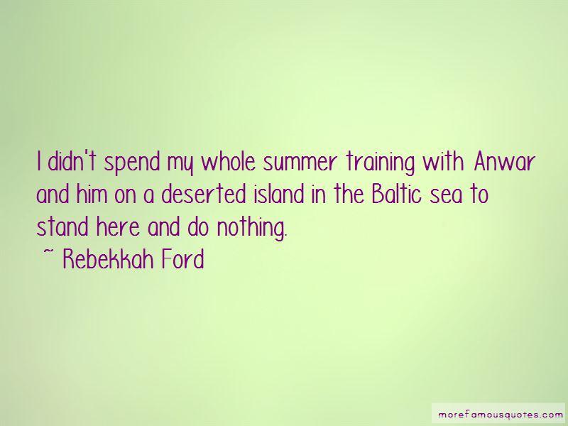 Baltic Sea Quotes