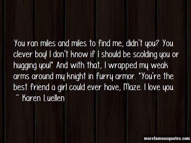 Best Friend Scolding Quotes