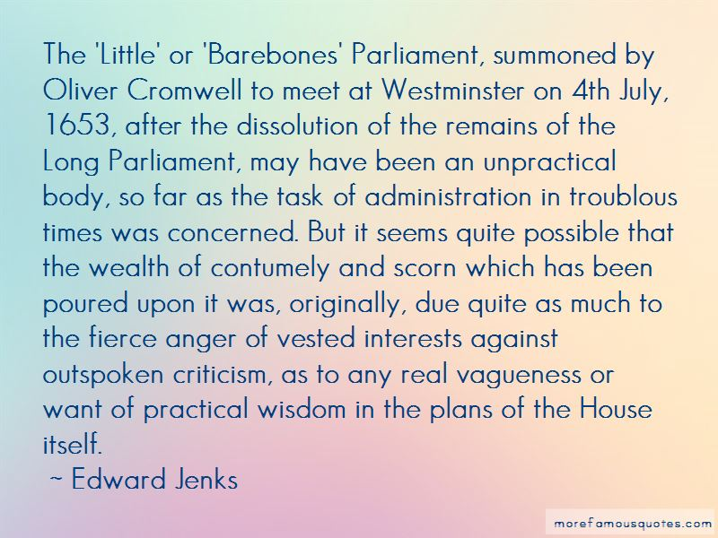 Cromwell Oliver Quotes