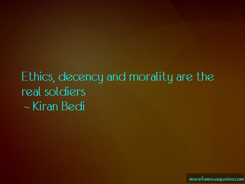 Decency And Morality Quotes