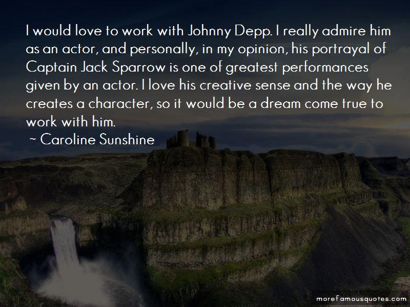 Depp Quotes