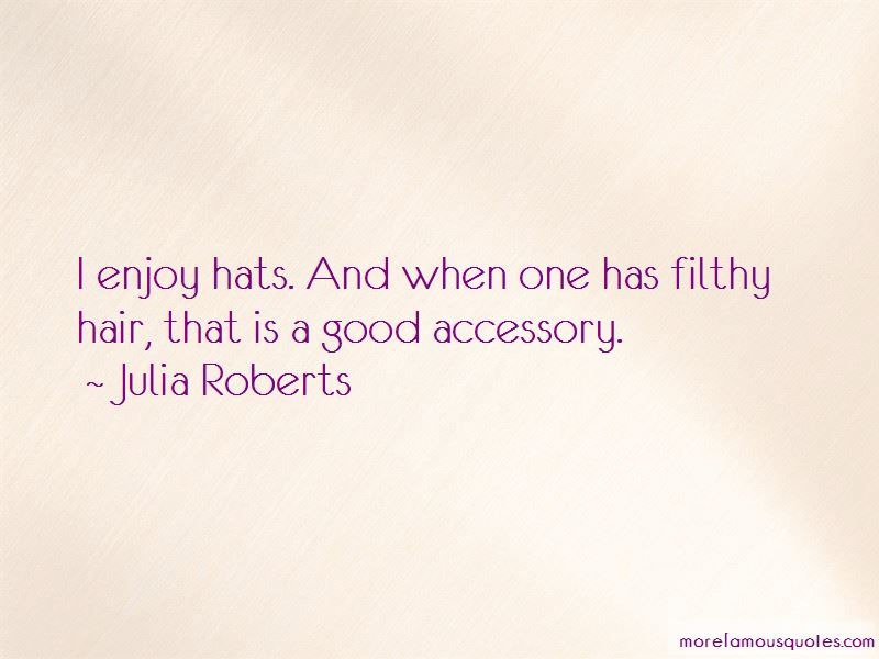 Good Accessory Quotes