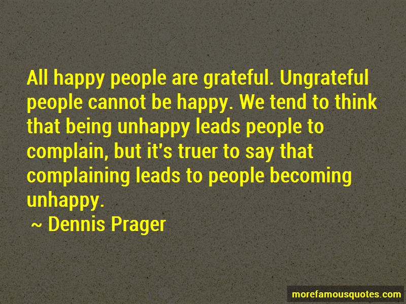 Happy But Unhappy Quotes