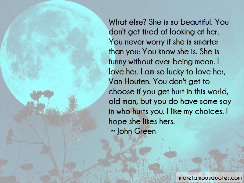 It Hurts But I Love You Quotes