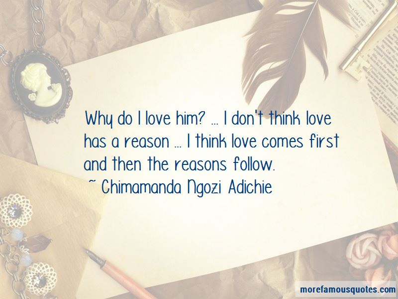 Love Comes First Quotes
