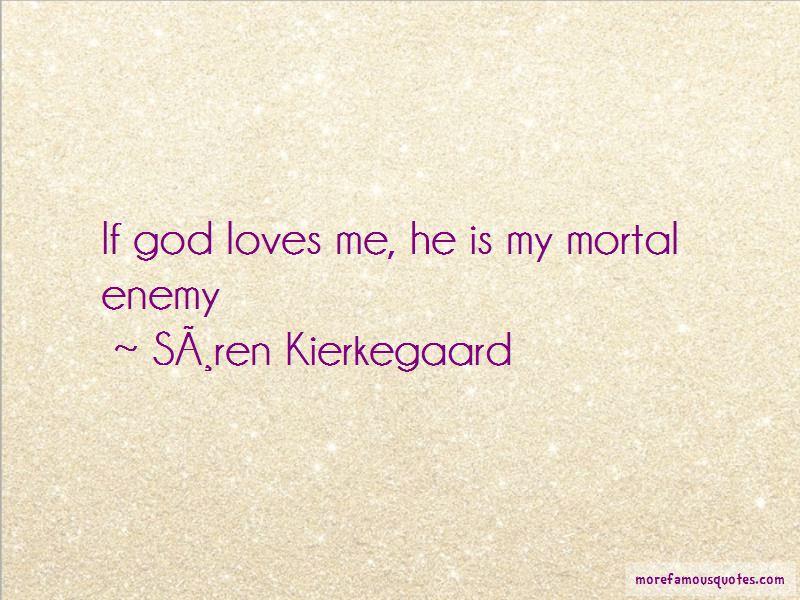 My Mortal Enemy Quotes