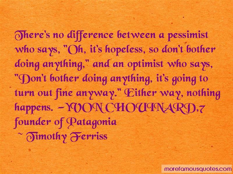Patagonia Yvon Chouinard Quotes