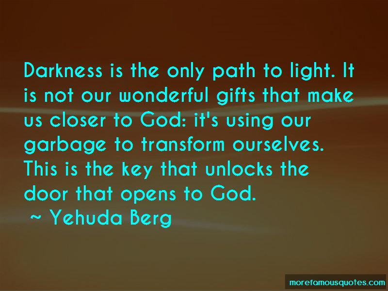 Path To Light Quotes