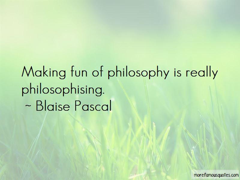 Philosophising Quotes