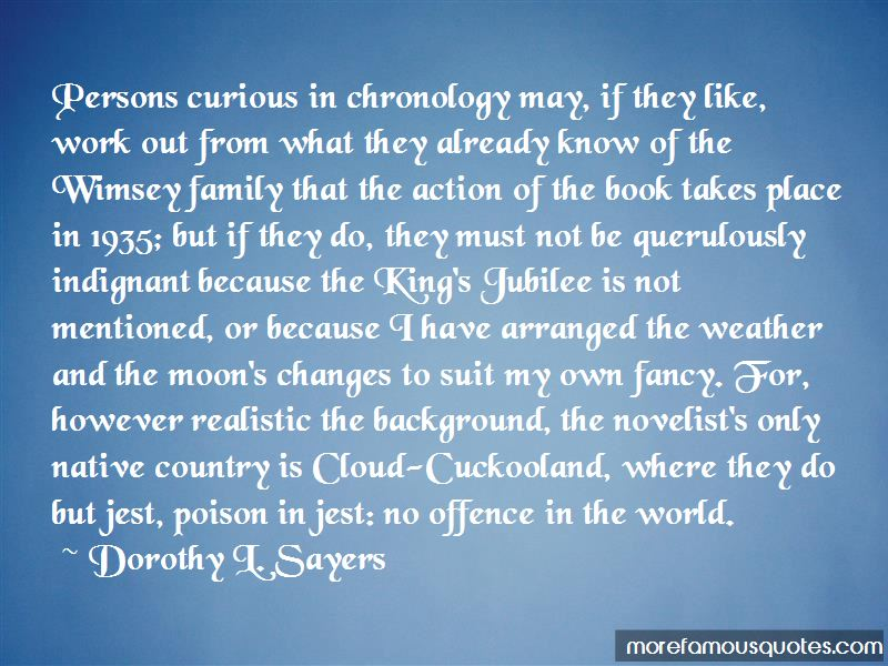 Quotes About Chronology