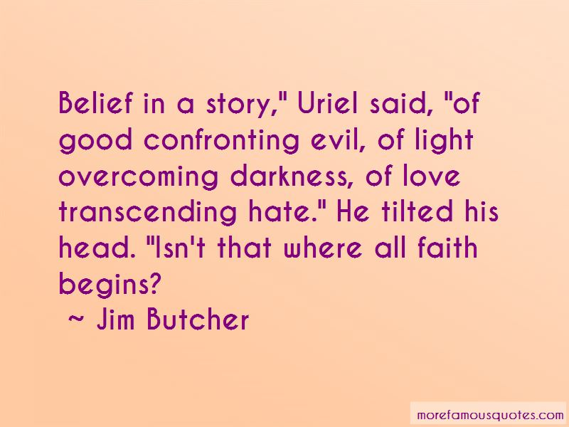 Confronting Evil Quotes Pictures 4