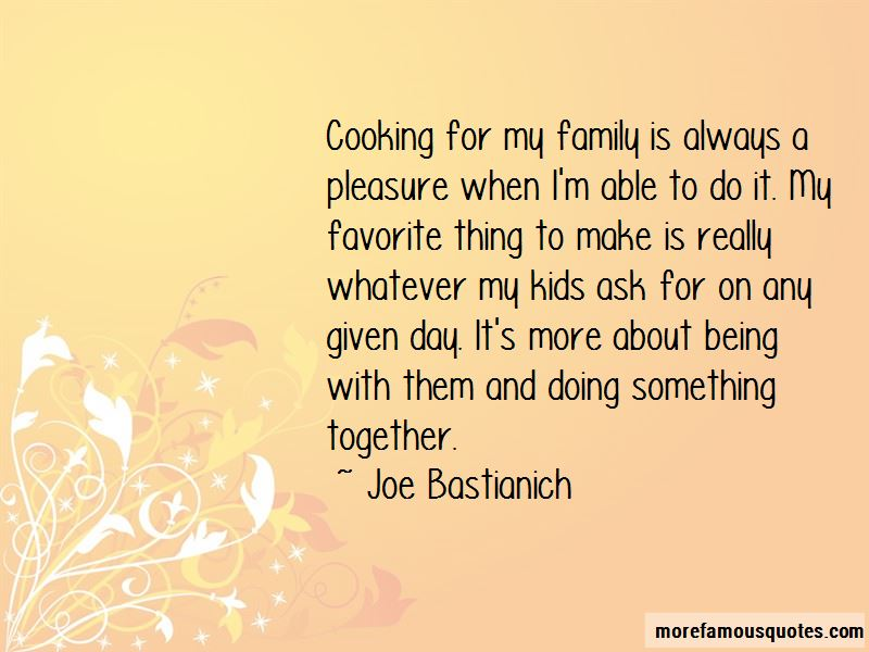 Cooking And Family Quotes Pictures 2