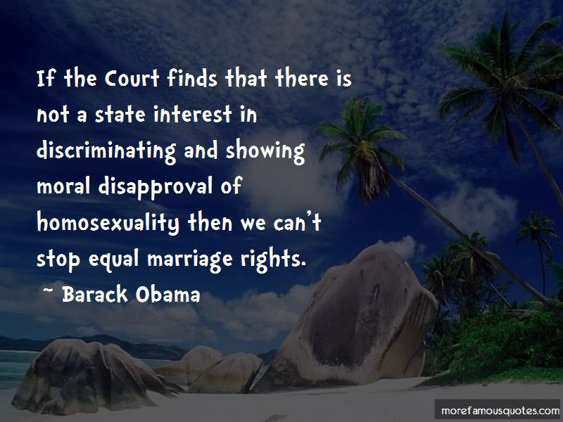 Quotes About Equal Marriage Rights