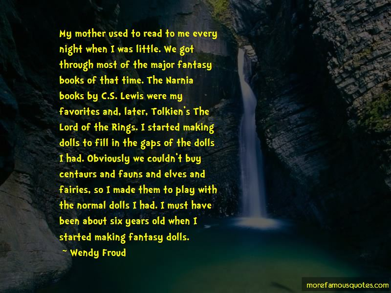 Quotes About Fairies And Books