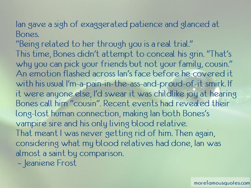 Quotes About Family Not Being Blood Related: top 1 Family ...