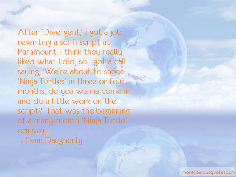Quotes About Four Divergent