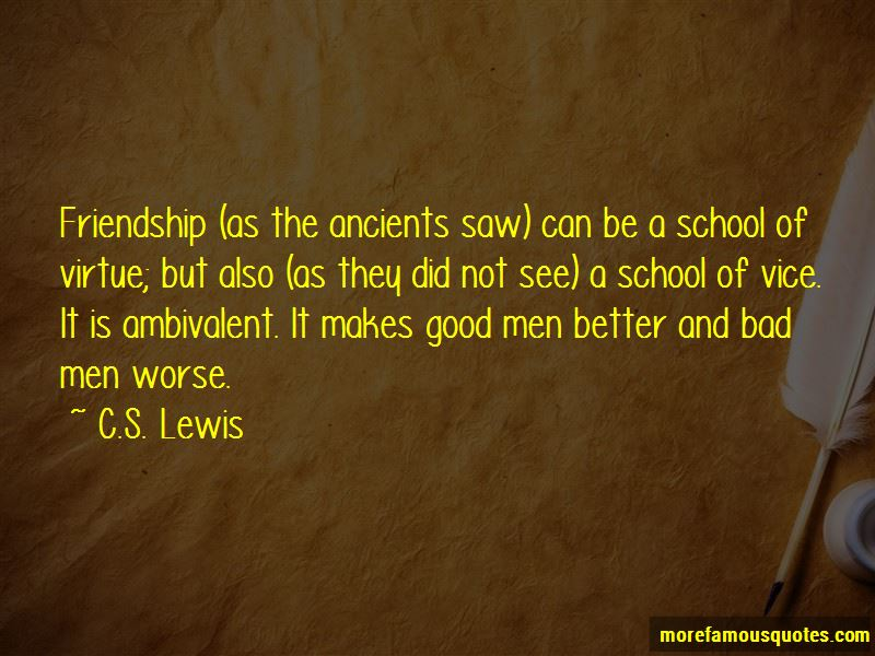 """friendship virtue and good friends essay As motivating and sustaining the friendship friends can be very friendship, virtue, and the good of friendship"""", proceedings of."""