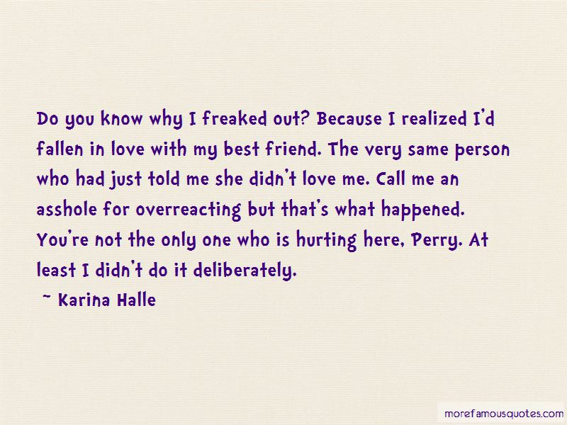 Hurting The Person You Love Quotes Pictures 3