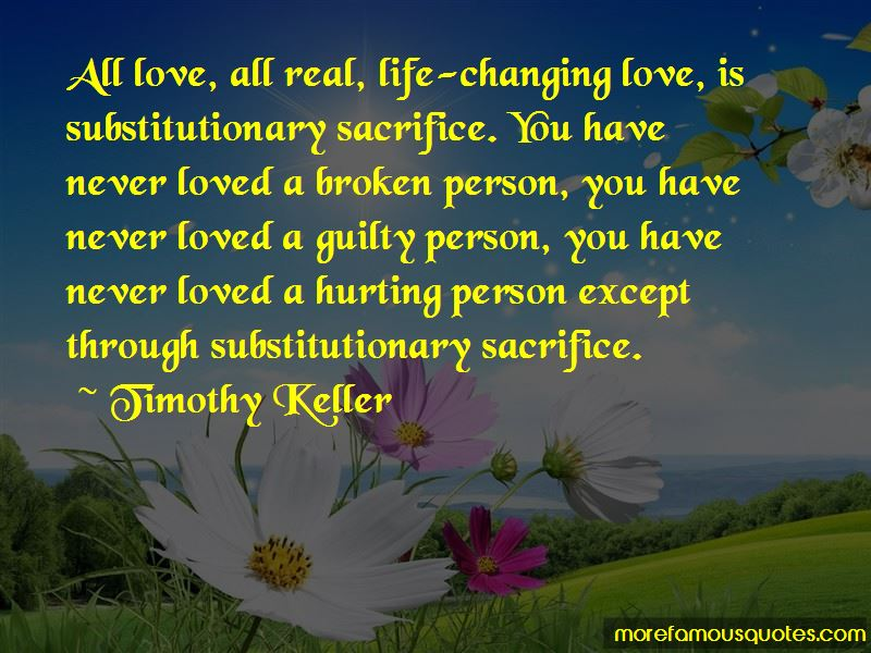 Quotes About Hurting The Person You Love