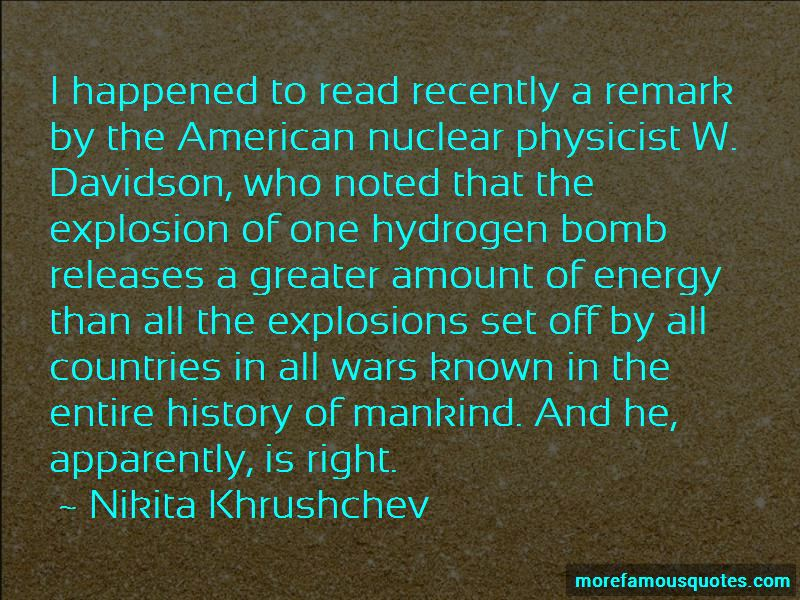 Hydrogen Bomb Quotes Pictures 4