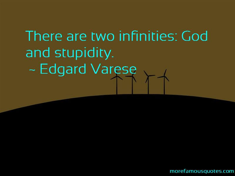 Quotes About Infinities